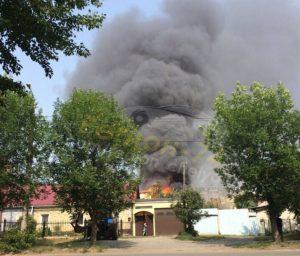 В Челябинске счуть не сгорела баня