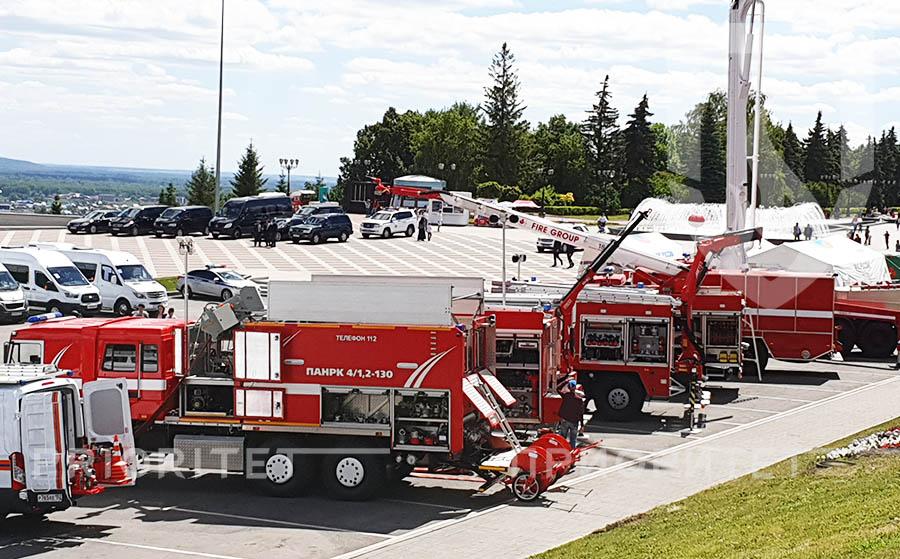 Пожарные машины, сделанные в Миассе, будут экспортировать во Вьетнам