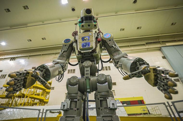 Поехали! Южноуральский робот Федор отправился в космос