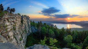 Самый высокий скальный массив среднего Урала