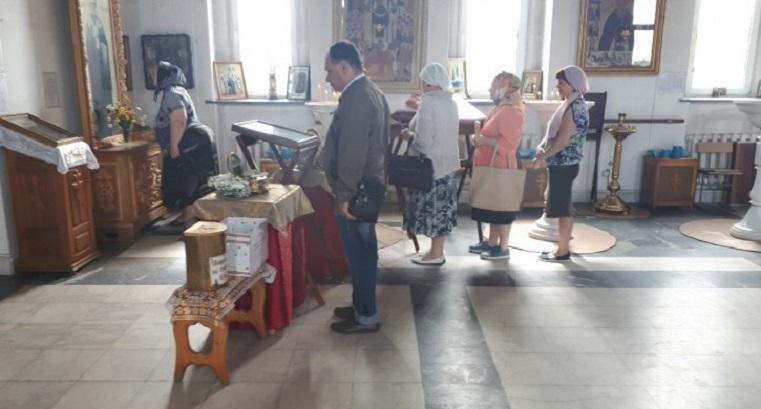 Матрона Московская в Копейске. На Урал привезли мощи православных святых