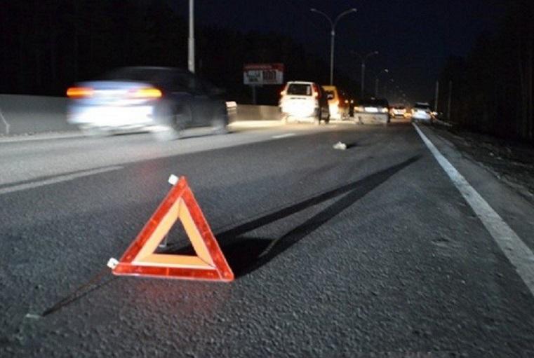 Сильно занесло. На трассе в Челябинской области перевернулась маршрутка