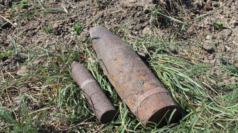 Задержали дыхание. На свалке под Челябинском нашли мину
