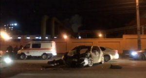 Страшная авария в районе лакокраски в Челябинске