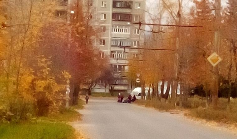 В Миассе Газель сбила женщину с коляской