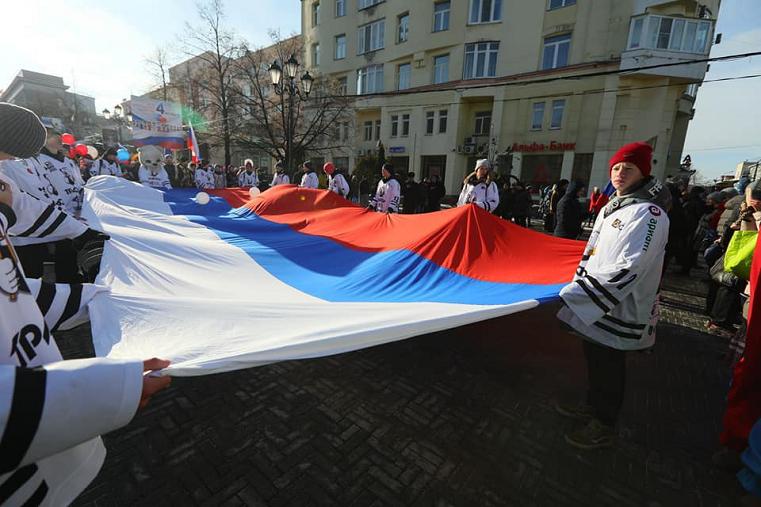 Полевая кухня и сражения. Челябинск отпраздновал День народного единства
