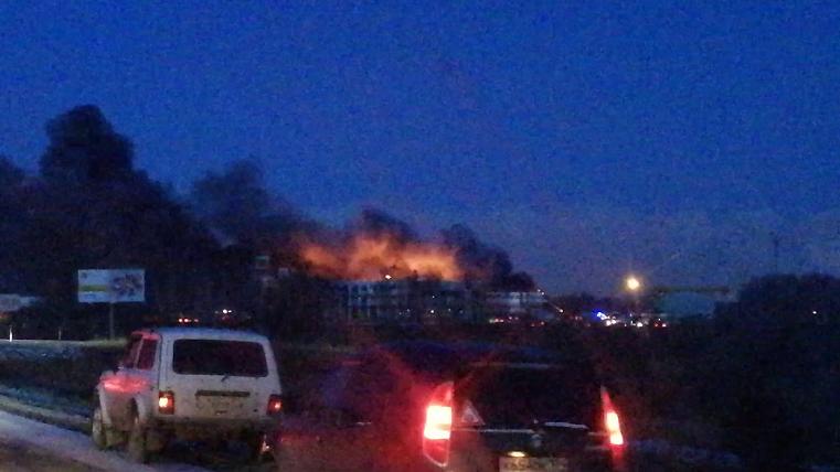 Вспыхнуло в котельной. В МЧС рассказали подробности пожара на компрессорном заводе