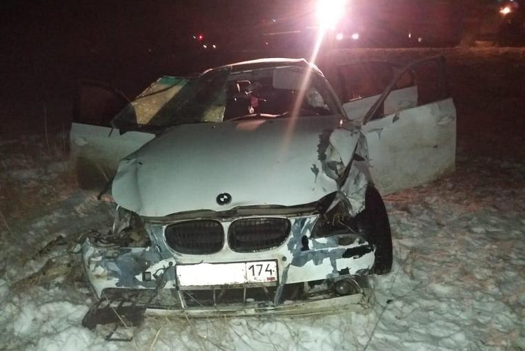 Смертельное ДТП. BMW разбилась на трассе под Челябинском