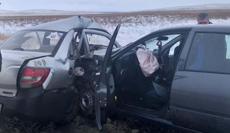 Смертельный занос. Женщина погибла в лобовом ДТП на Южном Урале