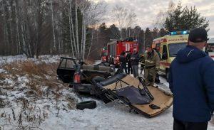 Пассажир ВАЗа погиб в страшной аварии в Челябинской области
