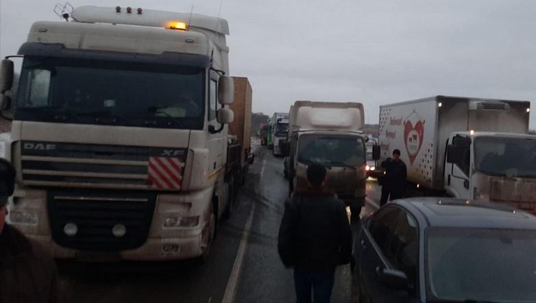 Смертельная авария с ВАЗом на трассе М-5