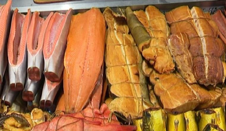 Колбаса из рыбы. Новый деликатес привезли с Камчатки в Челябинск