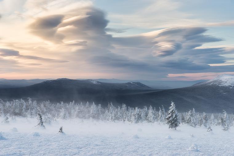 Чечевичные облака. Редкое природное явление восхитило южноуральцев
