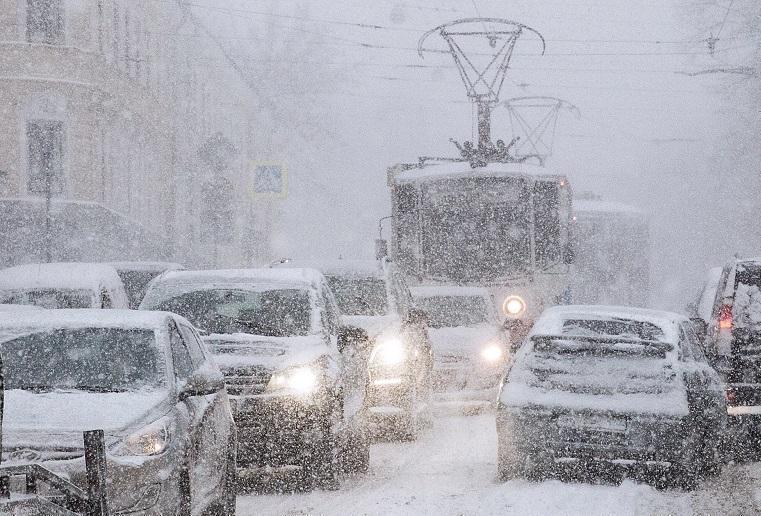 Идет метель. МЧС сообщает о снегопаде, надвигающемся на Челябинскую область