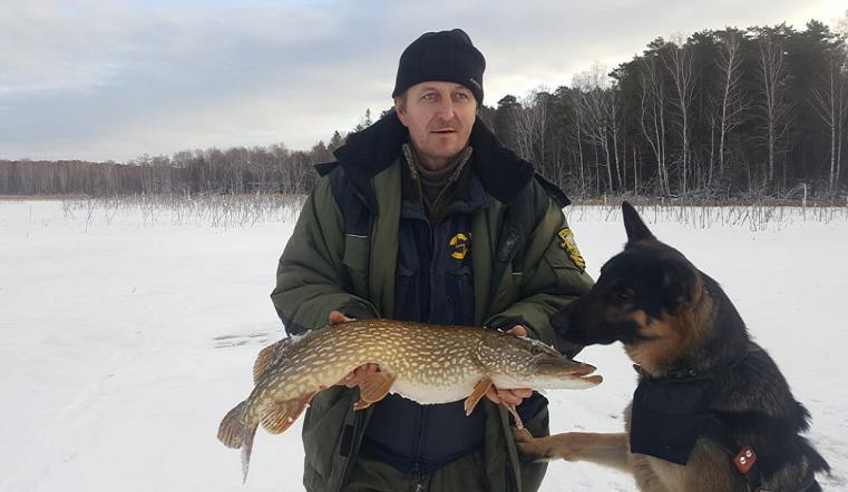 Уралец за день поймал всего одну рыбу, зато какую ФОТО