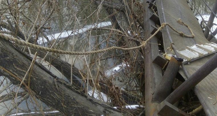 Форт Боярд по-челябински. Парящий мост появился на Урале ФОТО