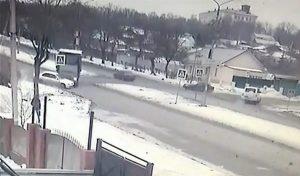 Авария на улице Пушкина в Магнитогорске