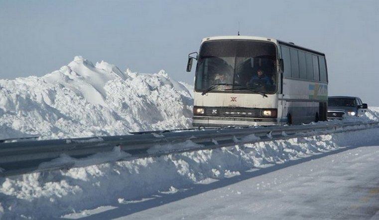 Часть автобусных рейсов сократили на Новый год в Челябинской области
