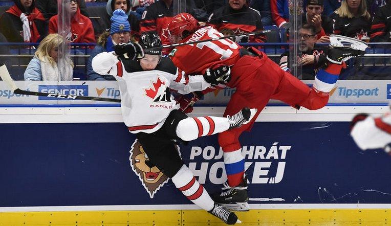 Историческая победа. Сборная России выиграла у канадцев на молодежном чемпионате мира