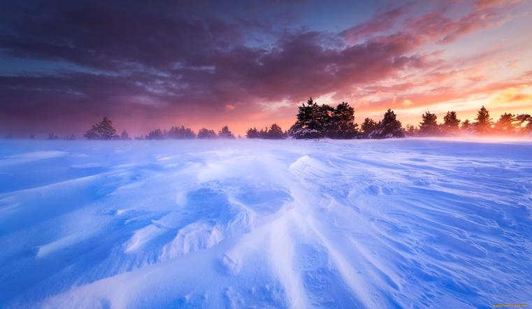 Стремительно. На Южный Урал надвигается снежная буря