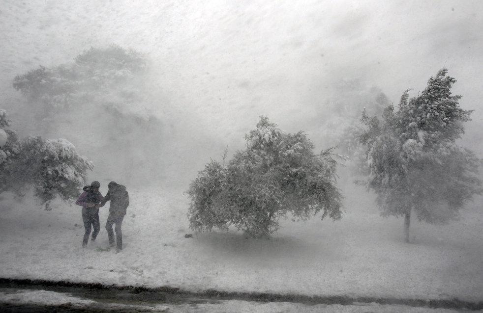 Циклон из Скандинавии. Арктический холод несется на Урал