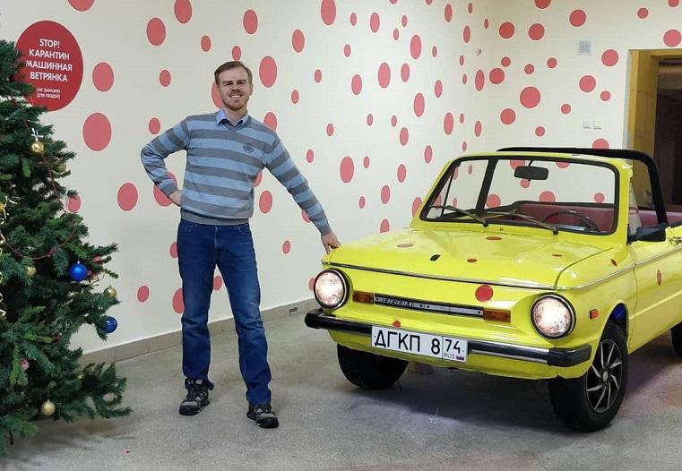 «Больной» автомобиль появился в детской поликлинике Челябинска