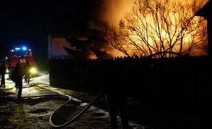 Сгорели заживо. 2 человека погибли при пожаре в Челябинской области