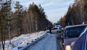 Цепная реакция. 4 человека пострадали в массовой аварии на Южном Урале