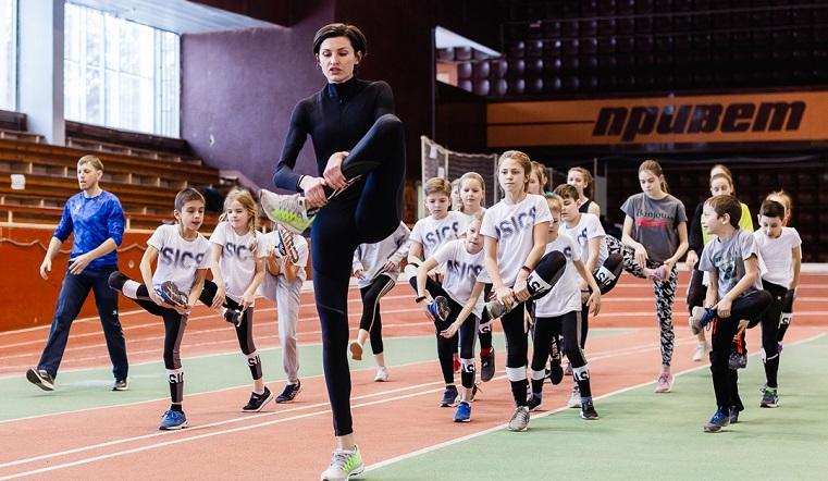Прыжок к успеху. Олимпийская чемпионка провела мастер-класс в Челябинске