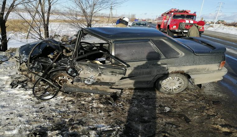 Железный «фарш». Жуткая авария произошла под Челябинском