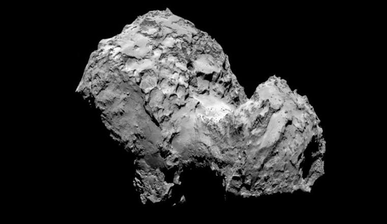 Космический хамелеон. Меняющую цвет комету заметили ученые