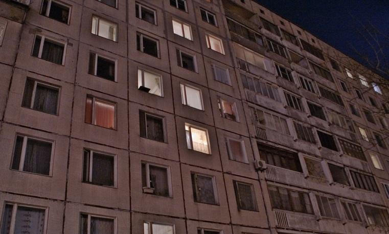 Жестокость или случайность? В Челябинске щенок выпал с 9 этажа