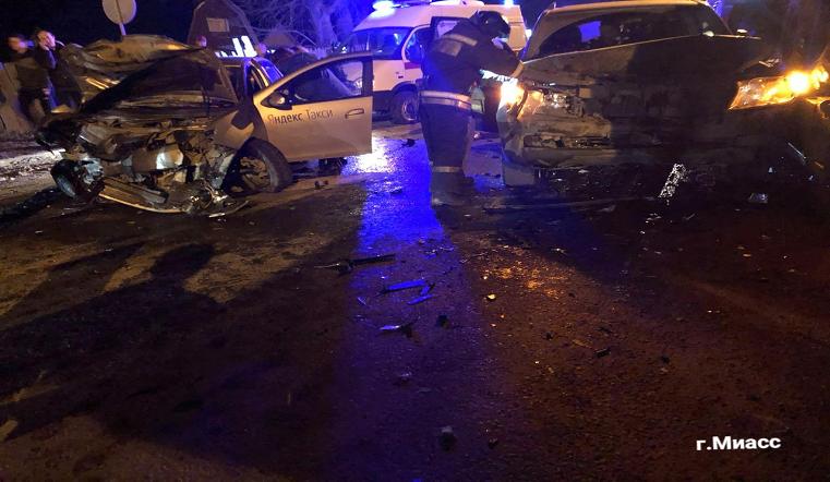 4 человека пострадали. На Южном Урале пьяный водитель устроил массовое ДТП