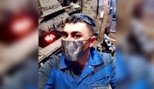 Железная маска. Уральский мастер придумал необычное средство для профилактики вирусов