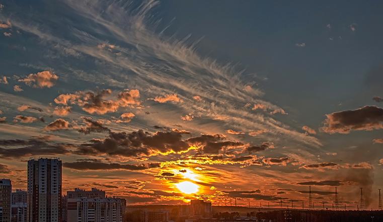 Холодает. На Южном Урале упадет температура и атмосферное давление