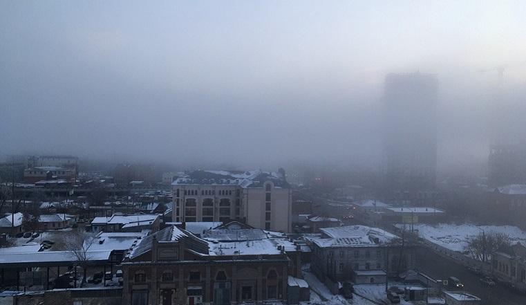 Накрыло. Челябинскую область окутал густой туман