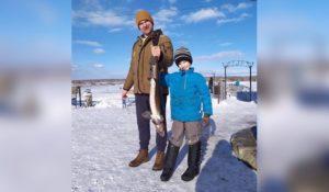 Царь-рыба. На Урале выловили гигантского осетра размером с ребенка