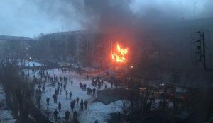 ЧП в Магнитогорске. Прогремел взрыв в жилом доме ВИДЕО