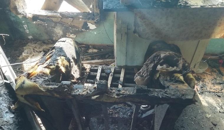 Вспыхнула проводка. На Южном Урале ребенок пострадал во время пожара