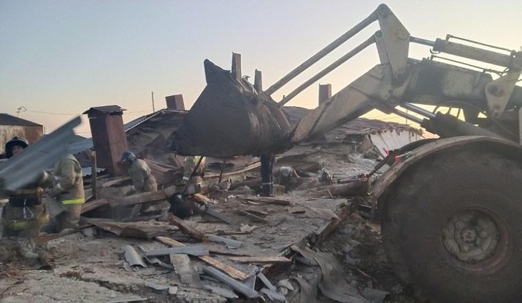 Поехала крыша. Ферма обрушилась в Челябинской области