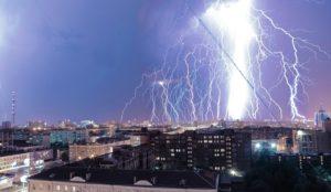 Погода в Челябинске. Дожди и грозы ожидаются на Южном Урале