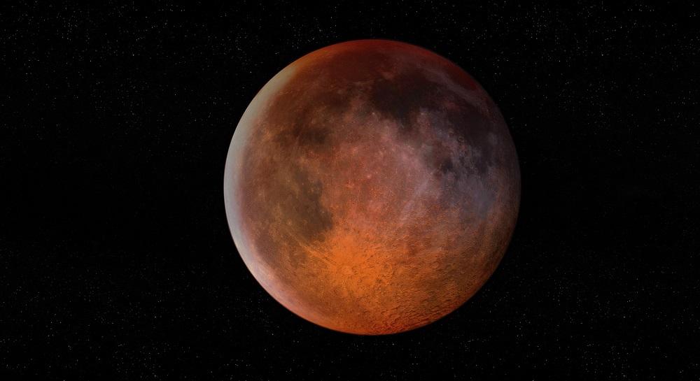 Лунное затмение 2020. На небе взойдет Клубничная Луна