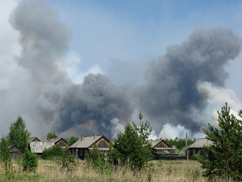 О подвиге случайного прохожего. Пожар на Урале едва не превратил в пепелище целое село