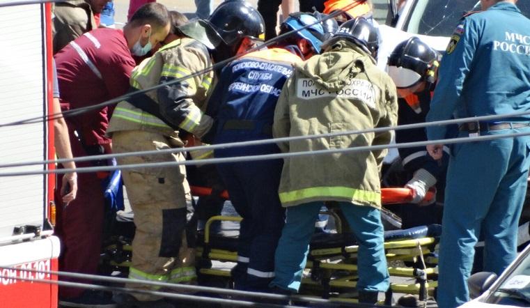 Лоб в лоб. На Урале произошло страшное ДТП с 2 иномарками