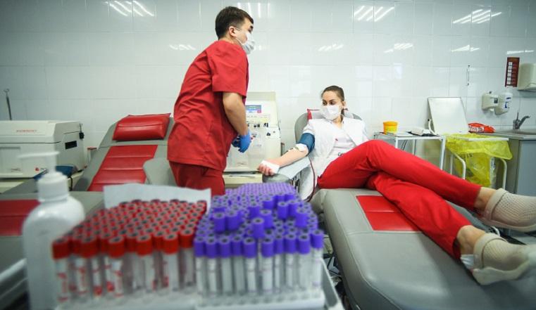 Студенты педагогического университета в Челябинске сдали 24 литра крови