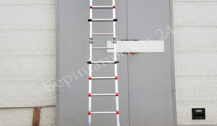 Аренда лестницы в Москве выгодные условия от надежной прокатной компании Беринапрокат