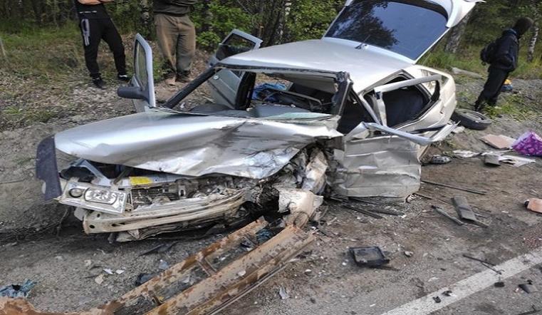 Груда металла. На трассе под Челябинском в ДТП тяжело пострадали 3 человека