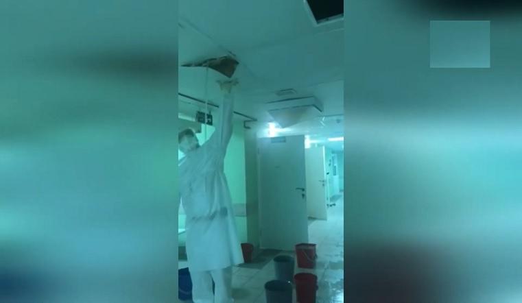 Черпали ведрами. Прокуратура проверит затопленное ковидное отделение в Челябинске