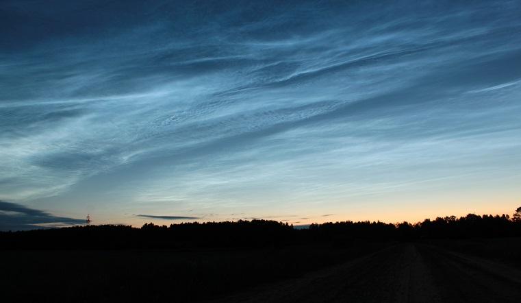 Зловещее предзнаменование. Редкие серебристые облака заметили над Уралом