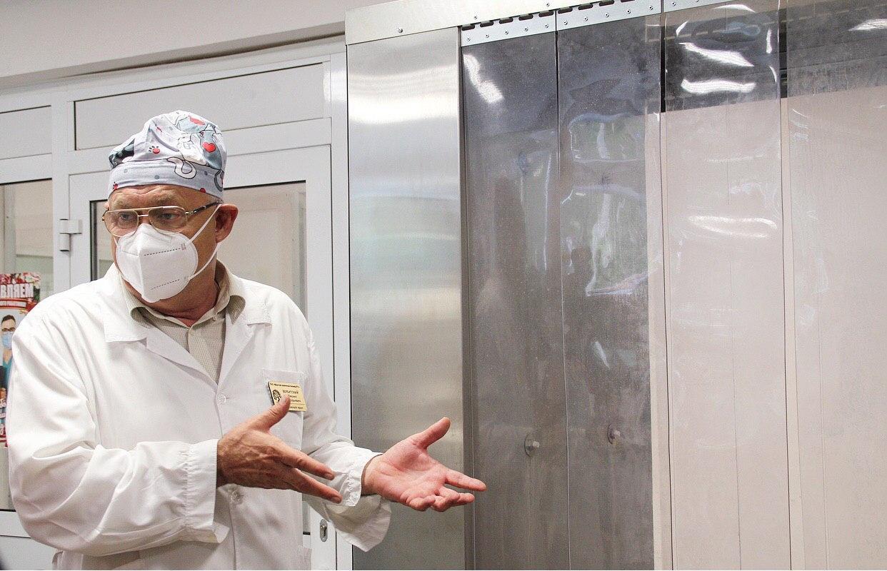 Как в тумане. На Южном Урале презентовали современное устройство для дезинфекции